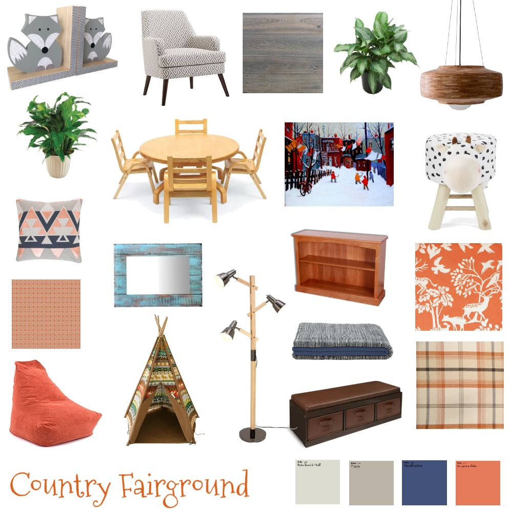 Country Fairground Interior Design Mood Board by G3ishadesign on Style Sourcebook