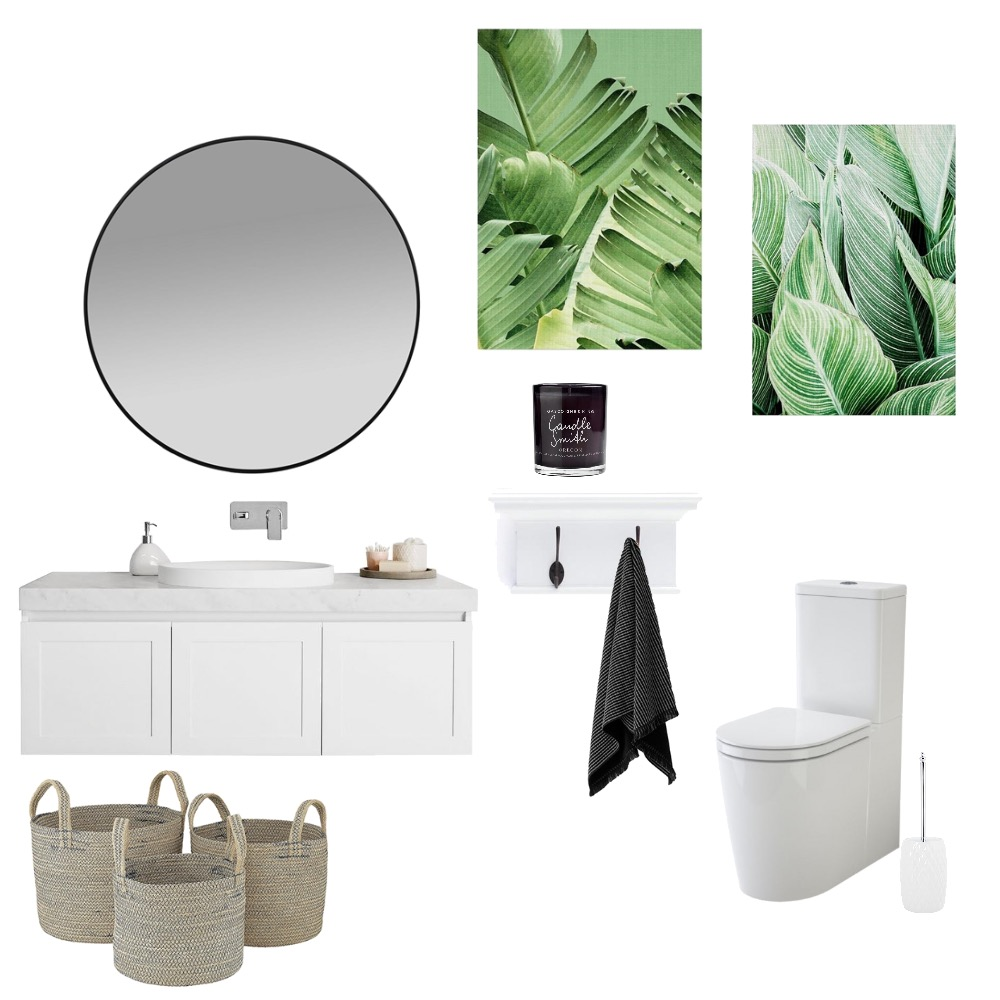 Powder room Interior Design Mood Board by CrystalLeigh on Style Sourcebook