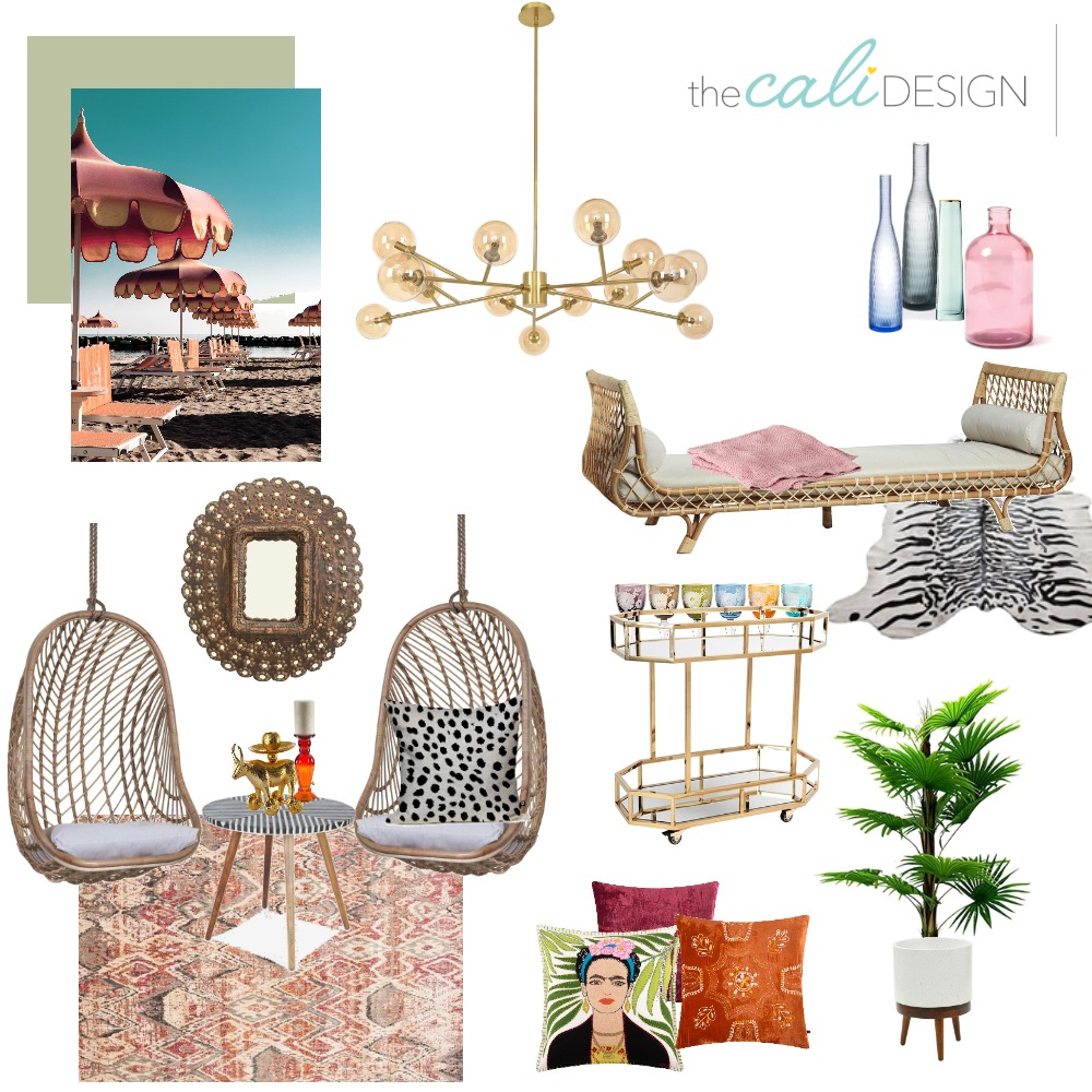 Parker Inspired Mood Board by The Cali Design  on Style Sourcebook
