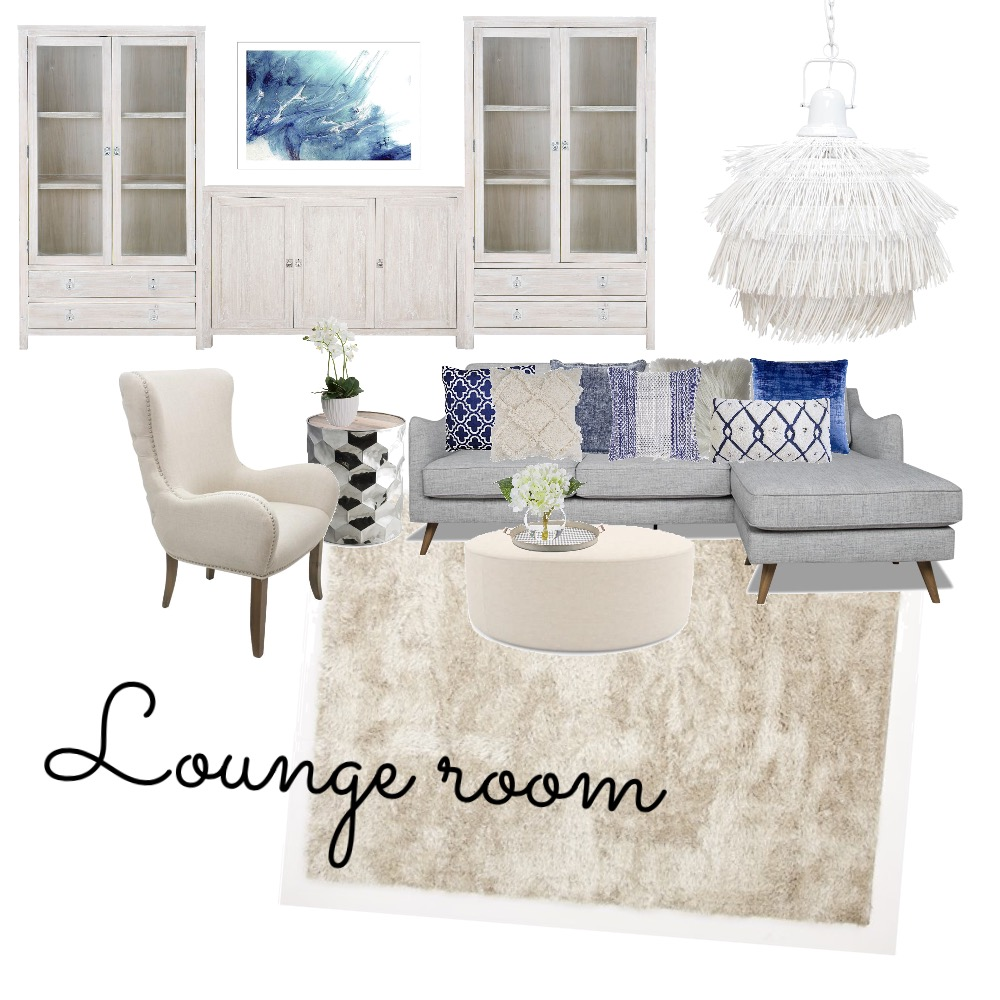 Lounge room Interior Design Mood Board by nikkitaT on Style Sourcebook