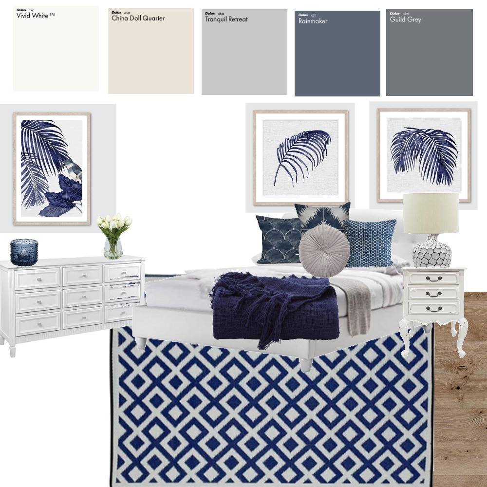 hamptons Interior Design Mood Board by taylorb on Style Sourcebook