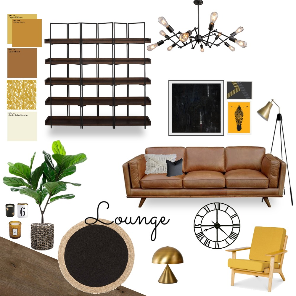 Lounge Interior Design Mood Board by LauraCripps on Style Sourcebook