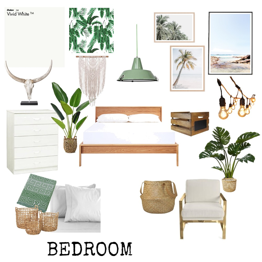 Bedroom Interior Design Mood Board by Stine on Style Sourcebook