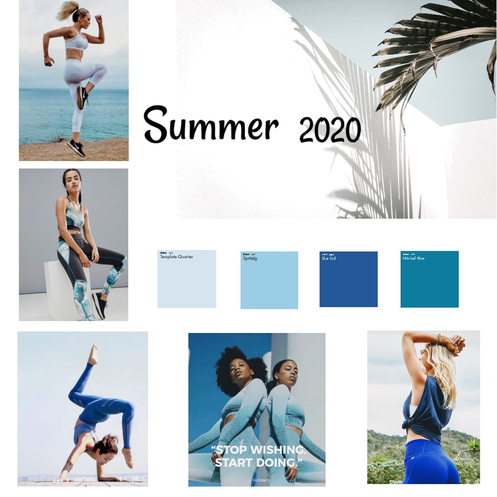 2020 Spring Mood Interior Design Mood Board by Bre on Style Sourcebook
