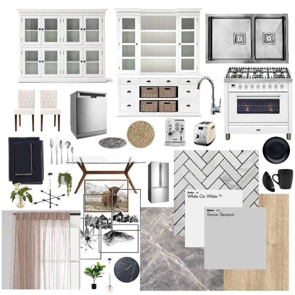 Elegant Interior Design Mood Board by mmonica on Style Sourcebook