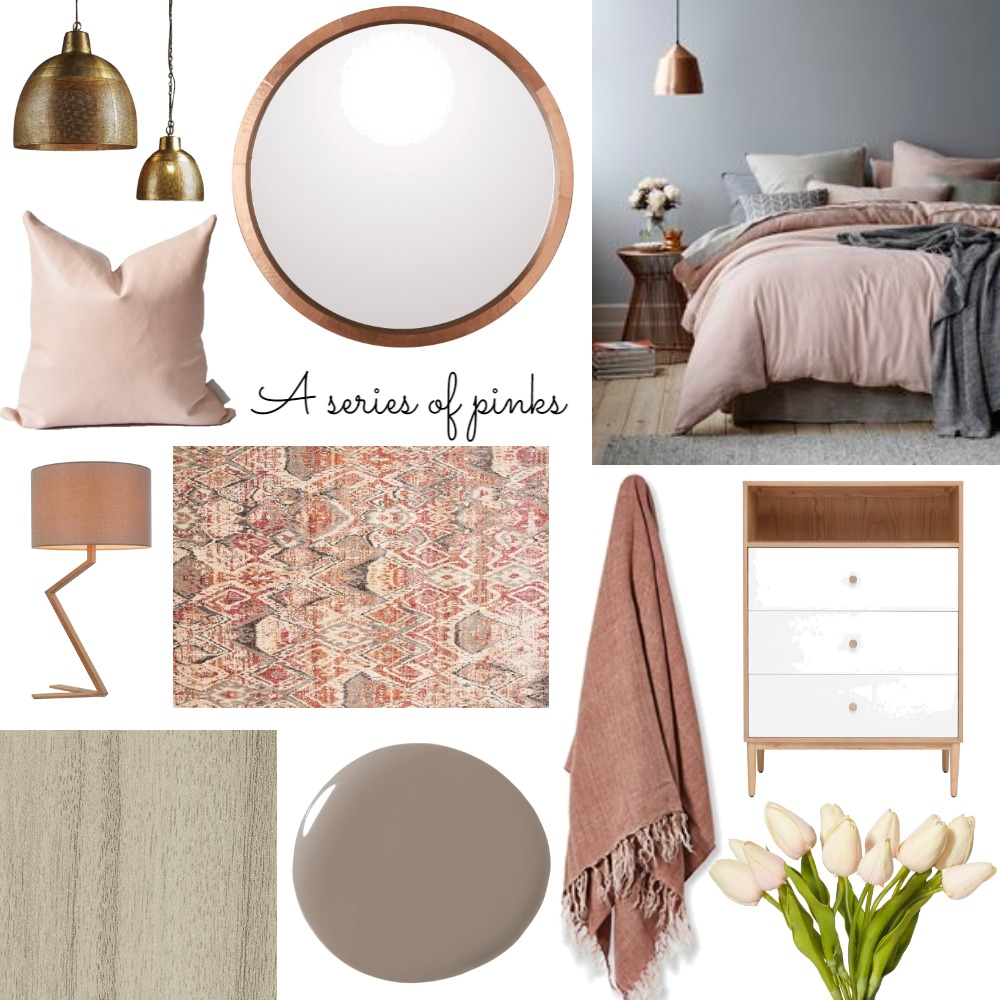 pink Interior Design Mood Board by claireswanepoel on Style Sourcebook