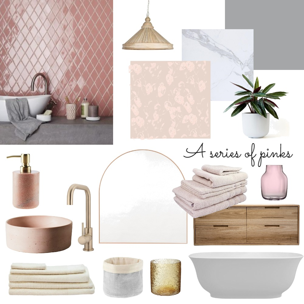 pink 2 Interior Design Mood Board by claireswanepoel on Style Sourcebook