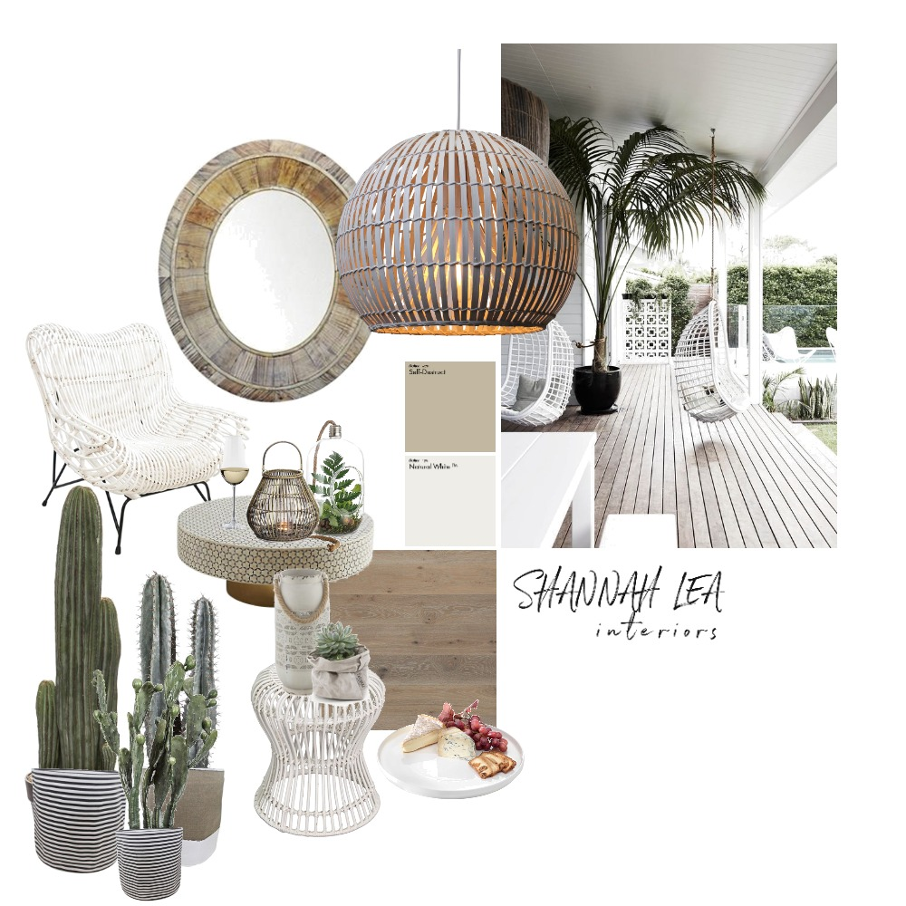 Deck Living Interior Design Mood Board by Shannah Lea Interiors on Style Sourcebook