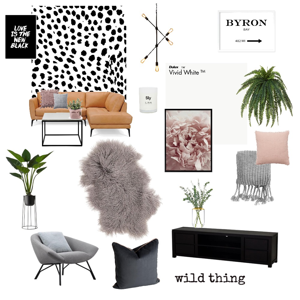 Living room Interior Design Mood Board by Kelly on Style Sourcebook