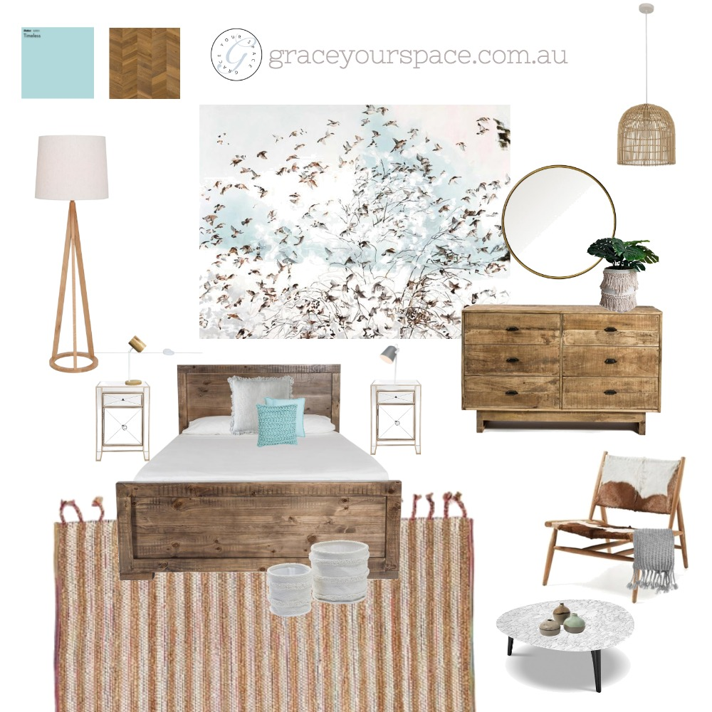 Bedroom Bliss Interior Design Mood Board by GraceYourSpace on Style Sourcebook