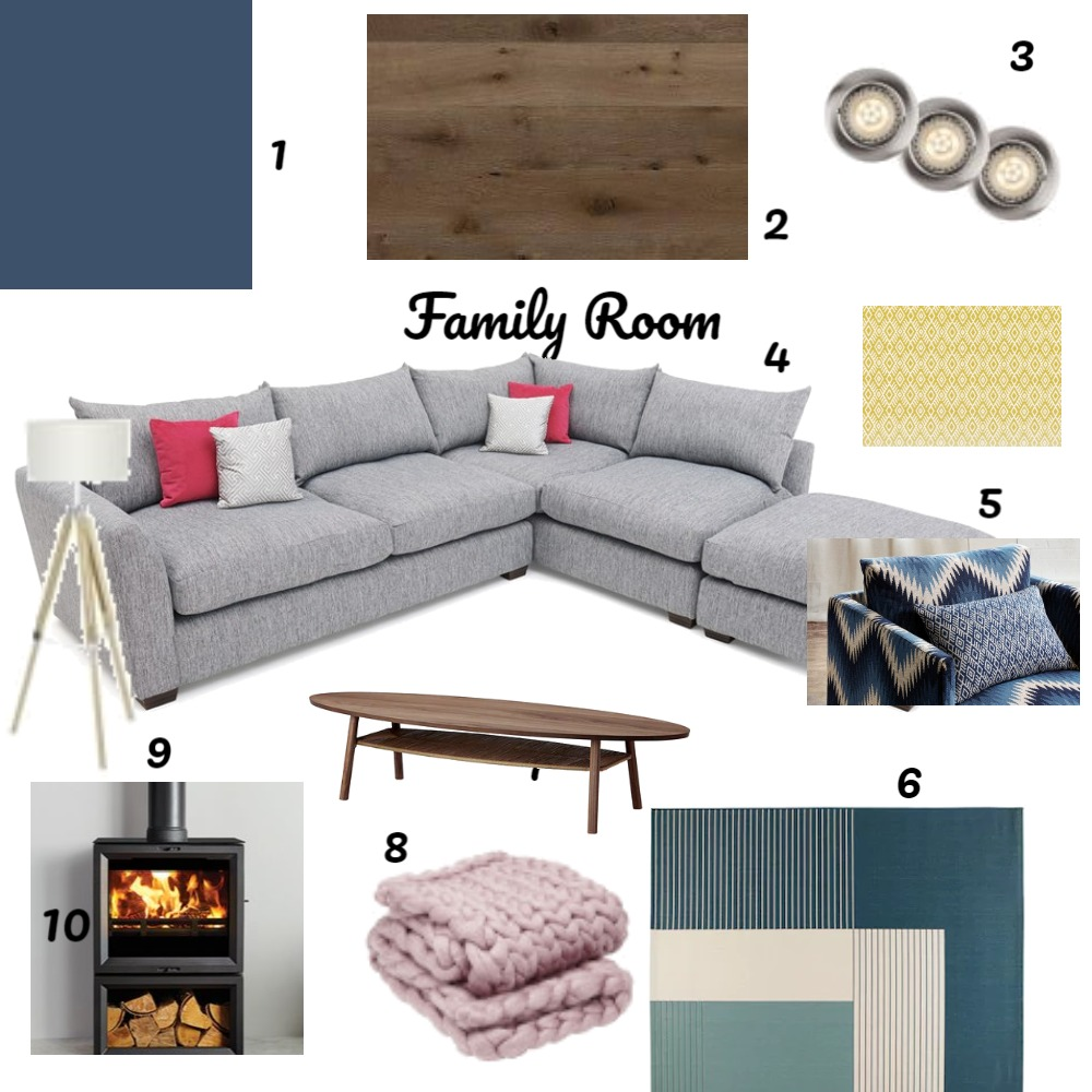 Assignment 9 Family Room Interior Design Mood Board by matilda on Style Sourcebook