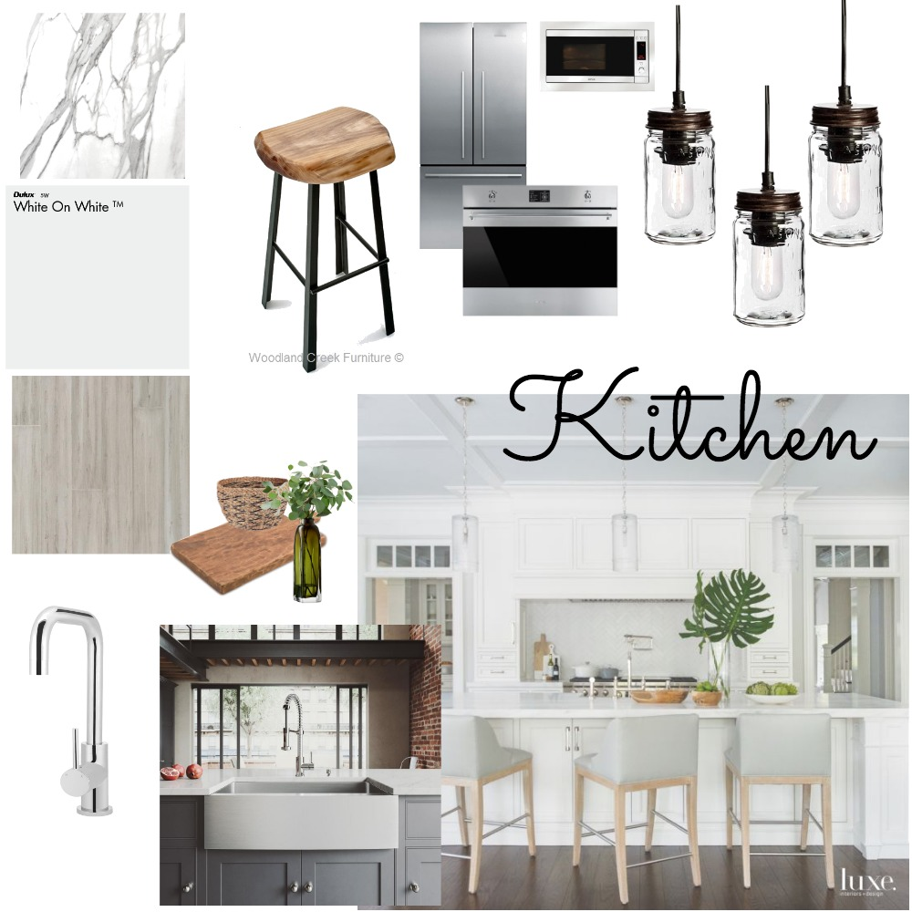 Module 9- Kitchen Interior Design Mood Board by briannagustave7 on Style Sourcebook