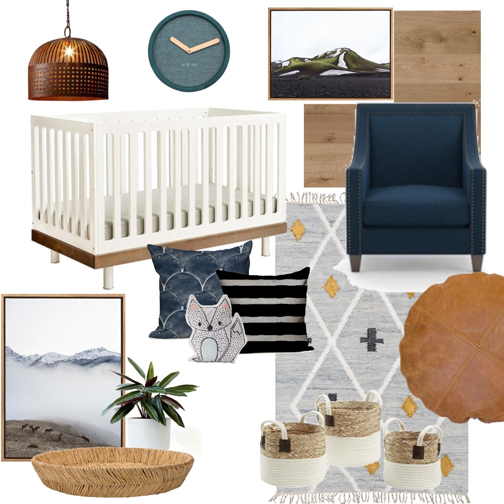nursery Interior Design Mood Board by leighnav on Style Sourcebook