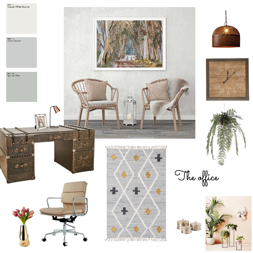 Office design Interior Design Mood Board by Style A Space on Style Sourcebook