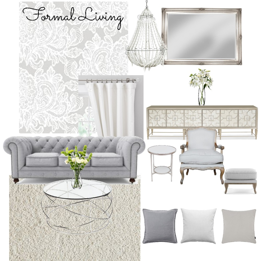 Formal Interior Design Mood Board by Julesmiskimmin on Style Sourcebook
