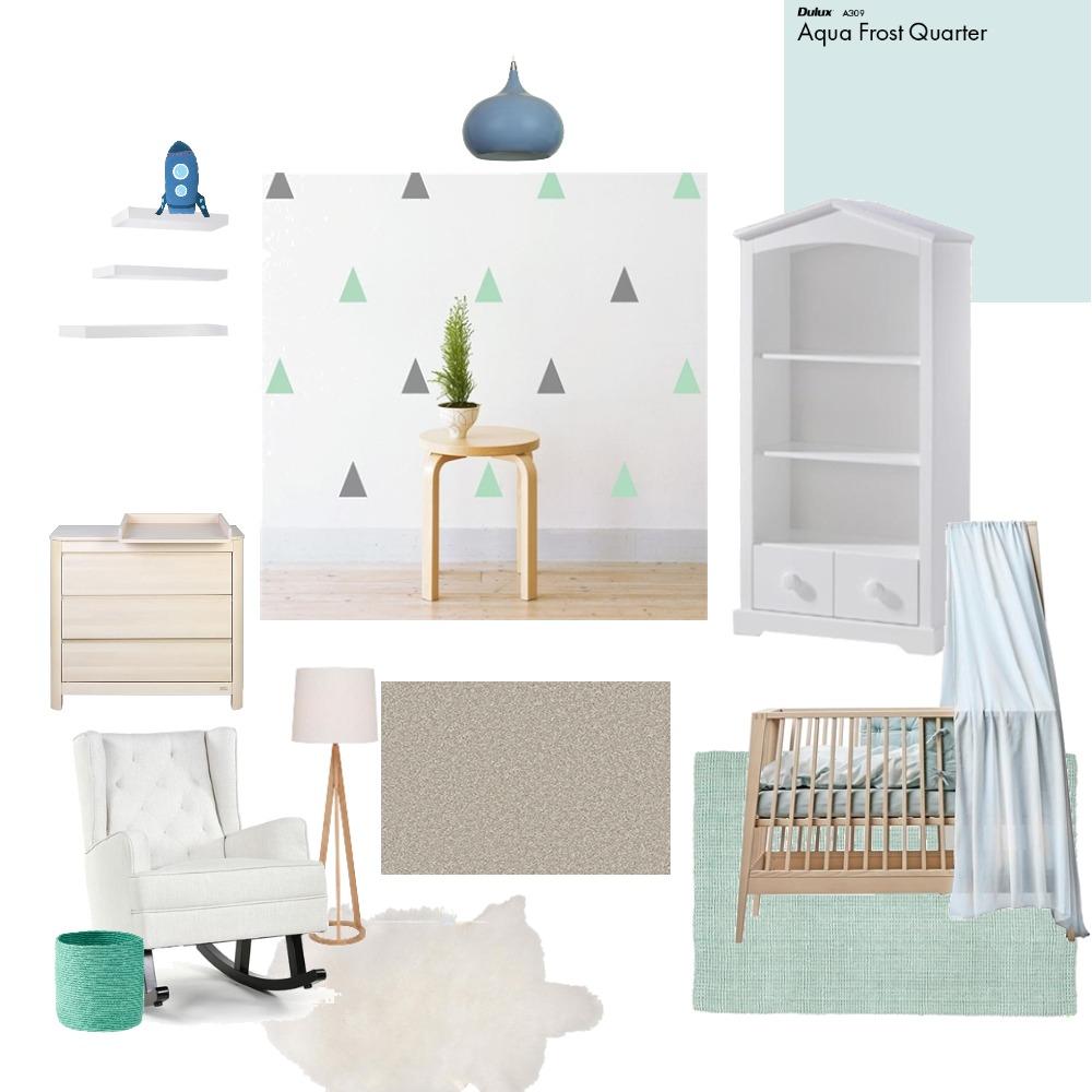 Baby Boy's Room Interior Design Mood Board by Meraldi on Style Sourcebook