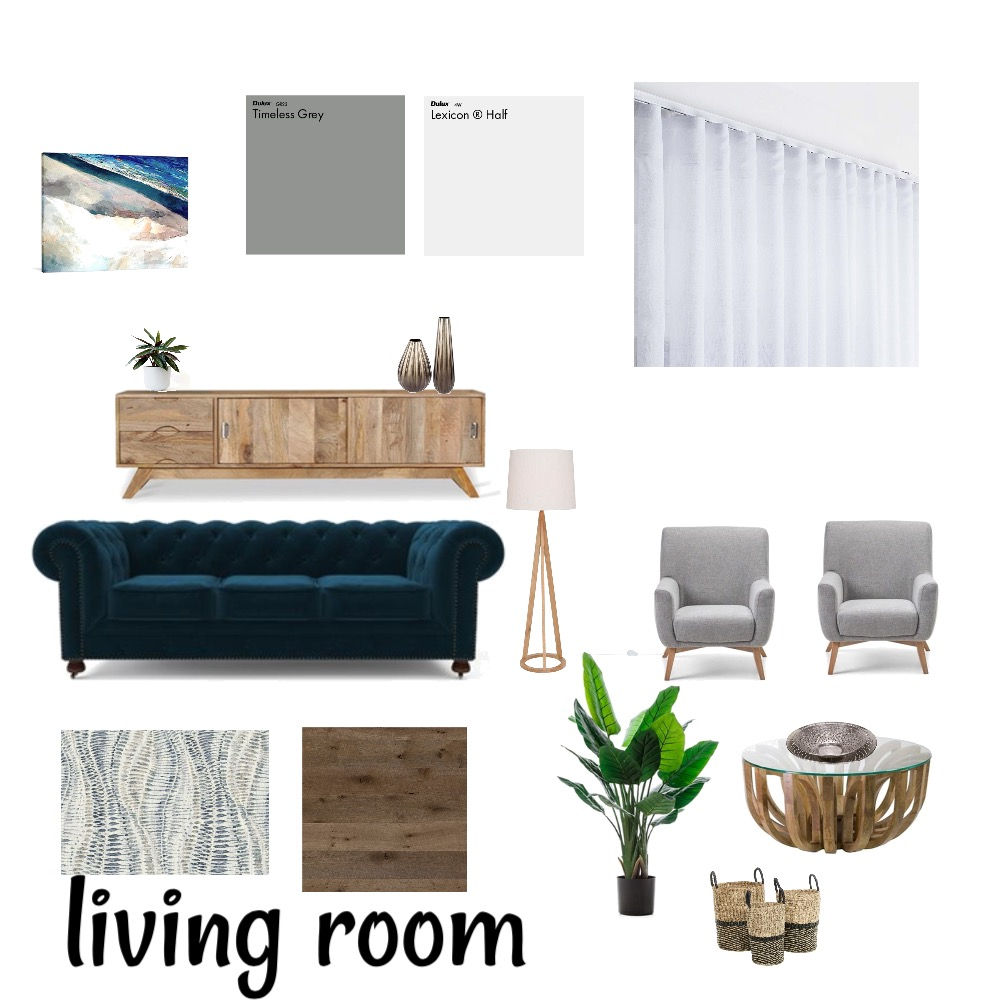 modern living room Interior Design Mood Board by Rahel on Style Sourcebook