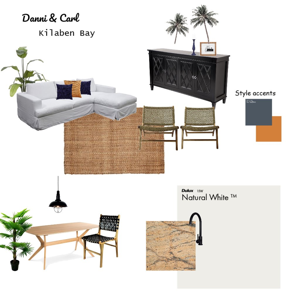 Danni & Carl Interior Design Mood Board by katiejones on Style Sourcebook