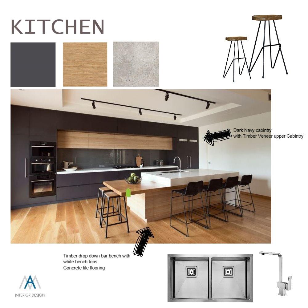De Silva Kitchen Option 2 Interior Design Mood Board by AM Interior Design on Style Sourcebook