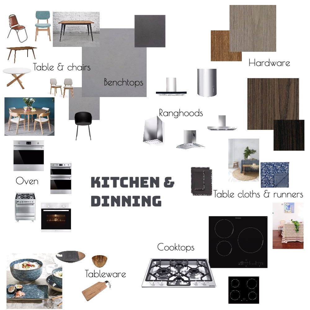 kitchen and dinning Interior Design Mood Board by Molly on Style Sourcebook