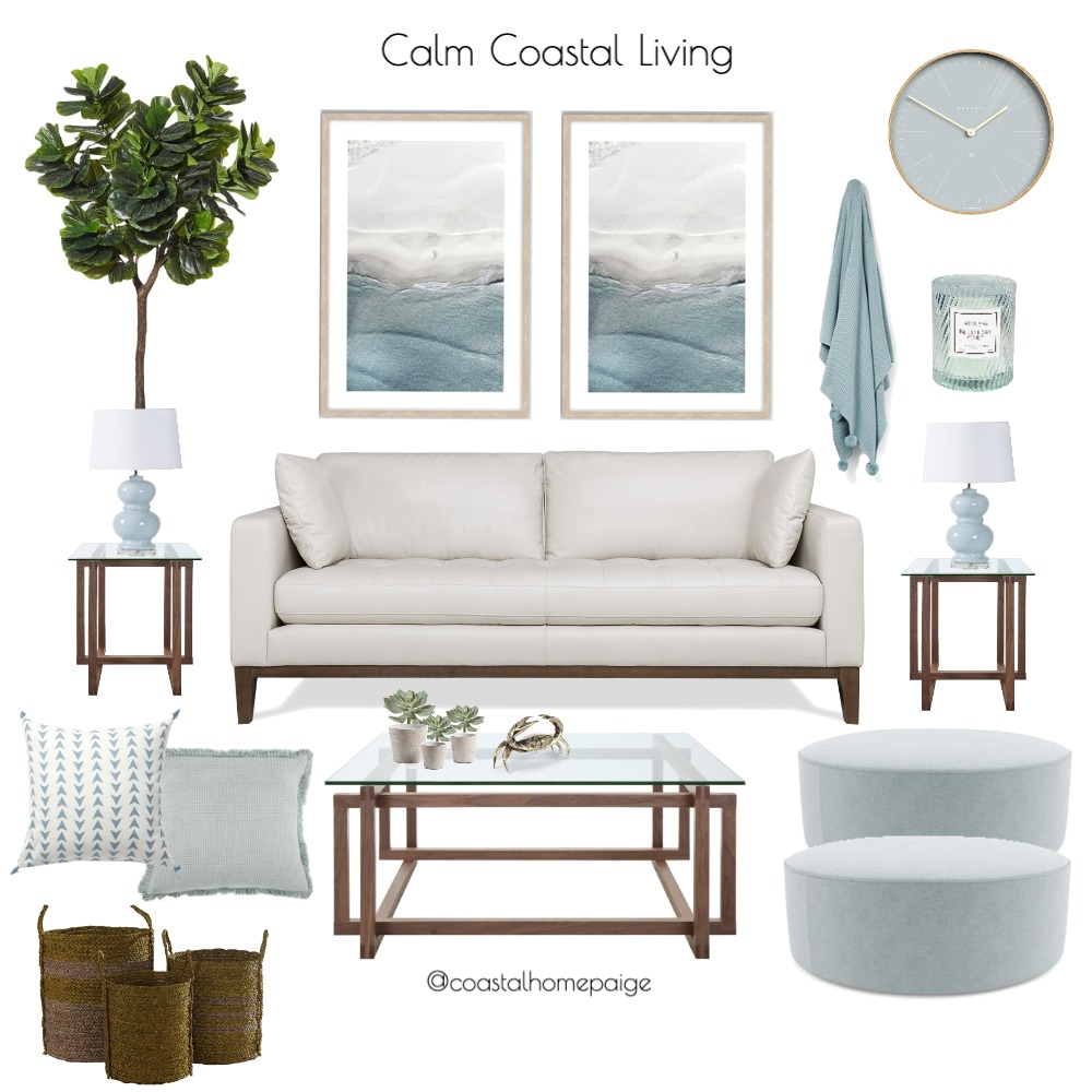 Tammy Lounge Interior Design Mood Board by CoastalHomePaige on Style Sourcebook