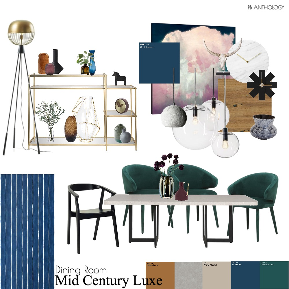 Prasad - Dining Room Interior Design Mood Board by patrikbosen on Style Sourcebook