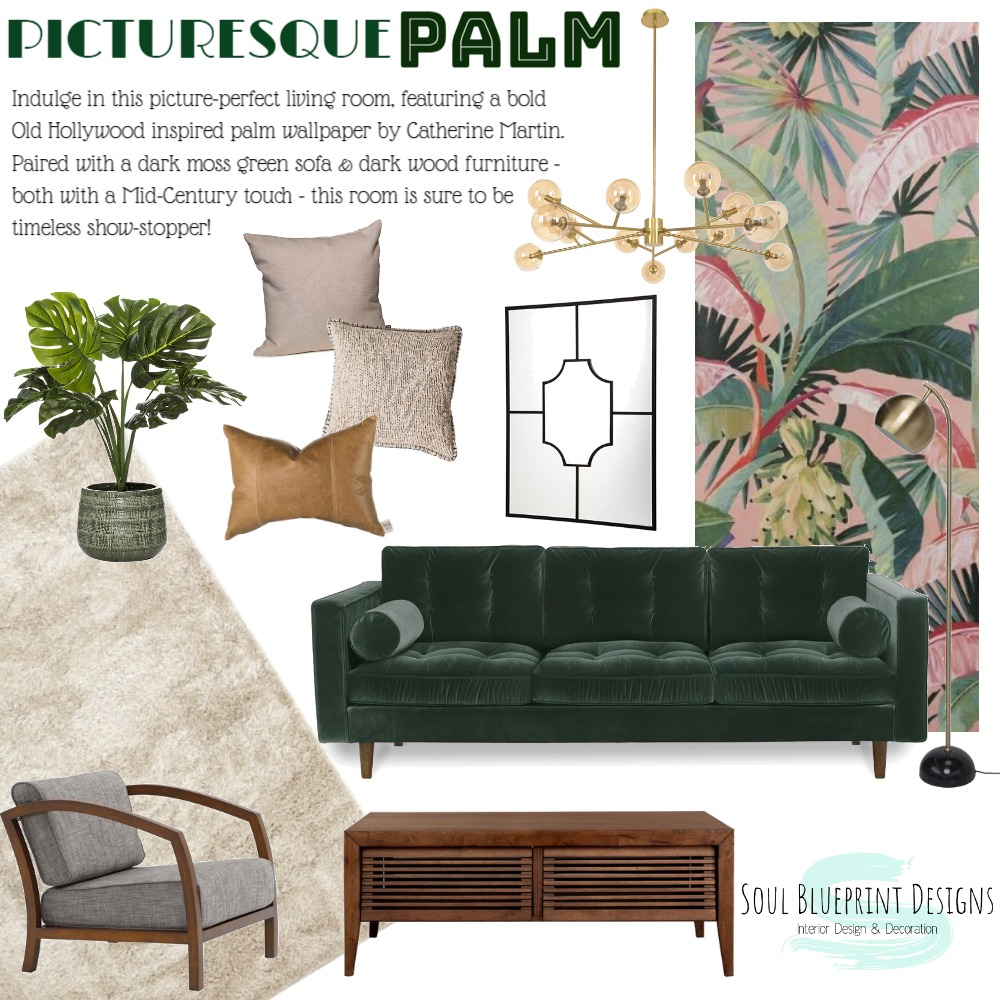Picturesque Palm Interior Design Mood Board by Taylah O'Brien on Style Sourcebook