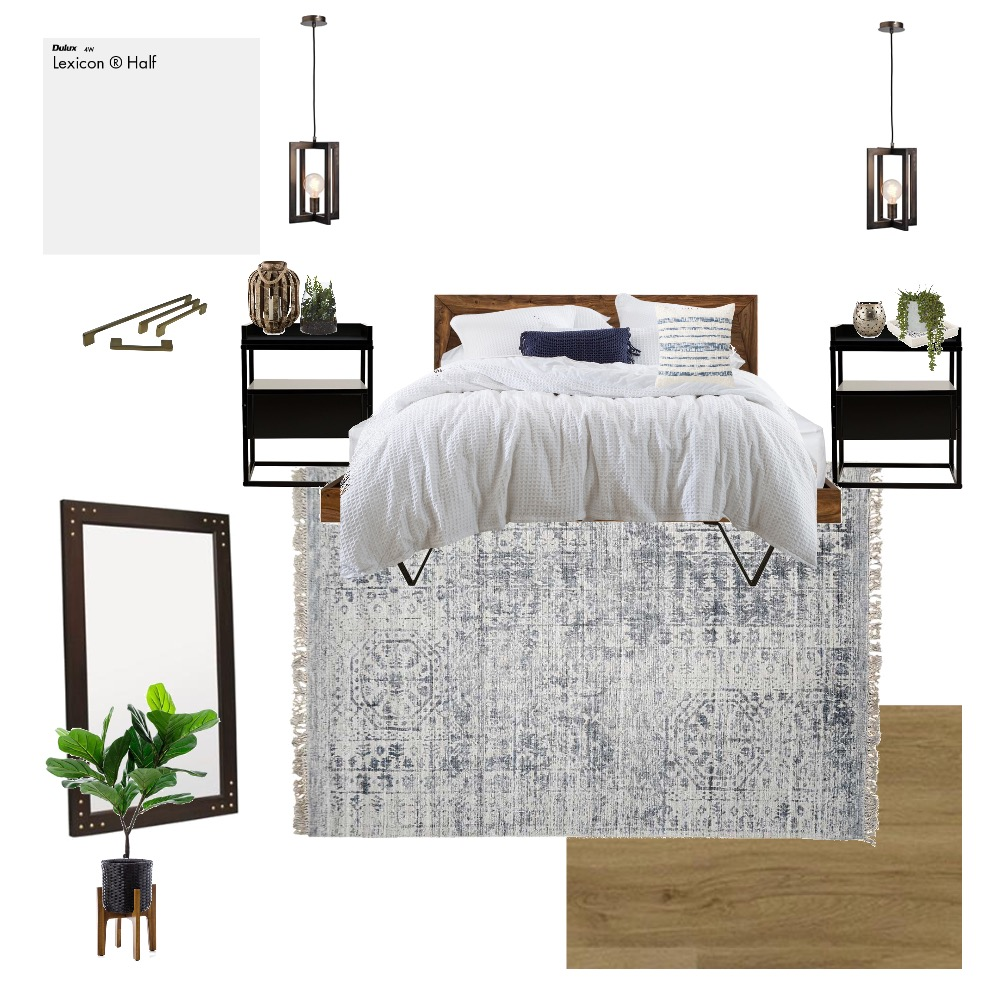 Master Bedroom Interior Design Mood Board by simplybridie on Style Sourcebook