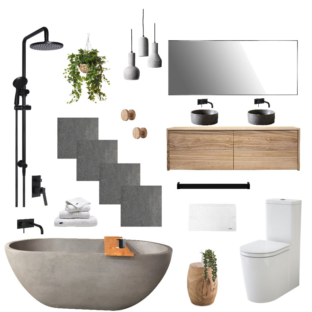 Ensuite Interior Design Mood Board by erin11884 on Style Sourcebook