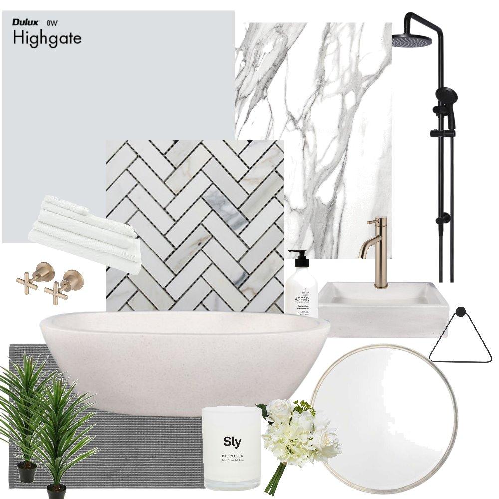 Dreamy Bathroom Interior Design Mood Board by elizablain on Style Sourcebook