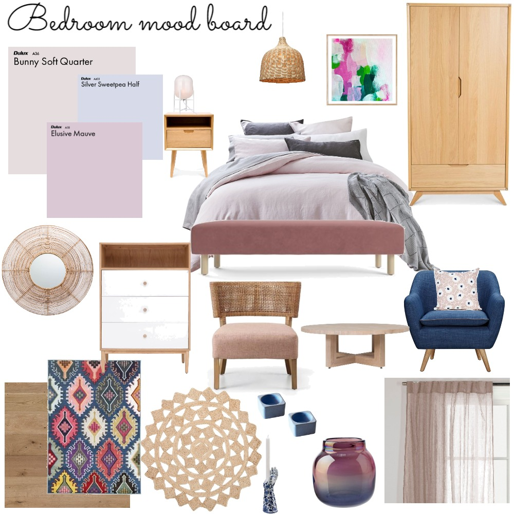 bedroom Interior Design Mood Board by kleoniki on Style Sourcebook