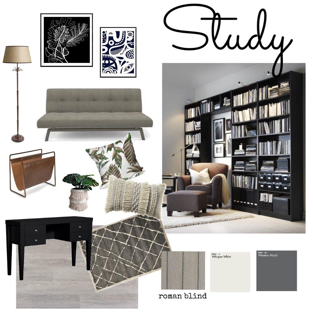 study Interior Design Mood Board by Mavis Ler on Style Sourcebook