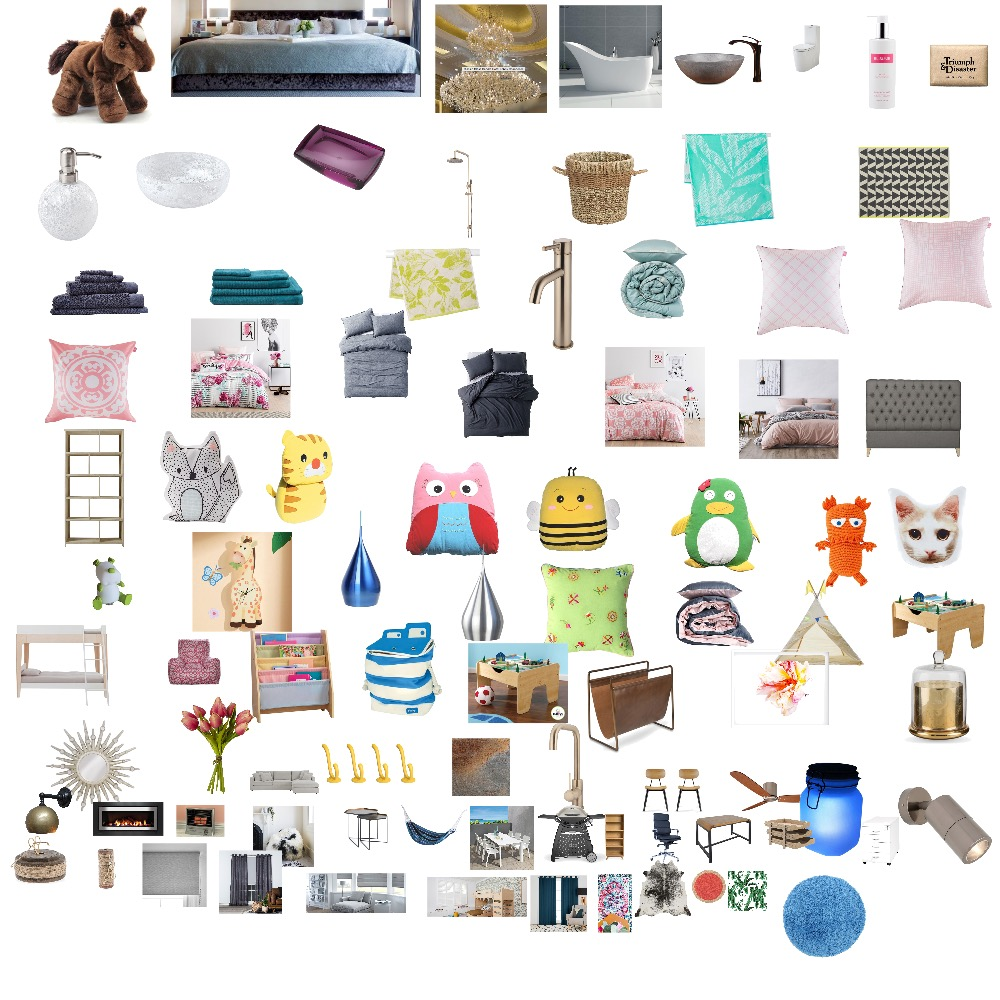Ross's Room Interior Design Mood Board by GinaDesigns on Style Sourcebook