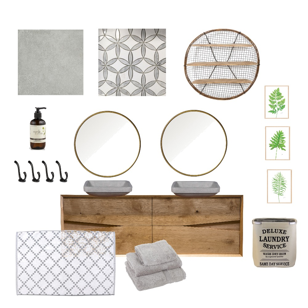 kid bathroom Interior Design Mood Board by lindsaychisan on Style Sourcebook
