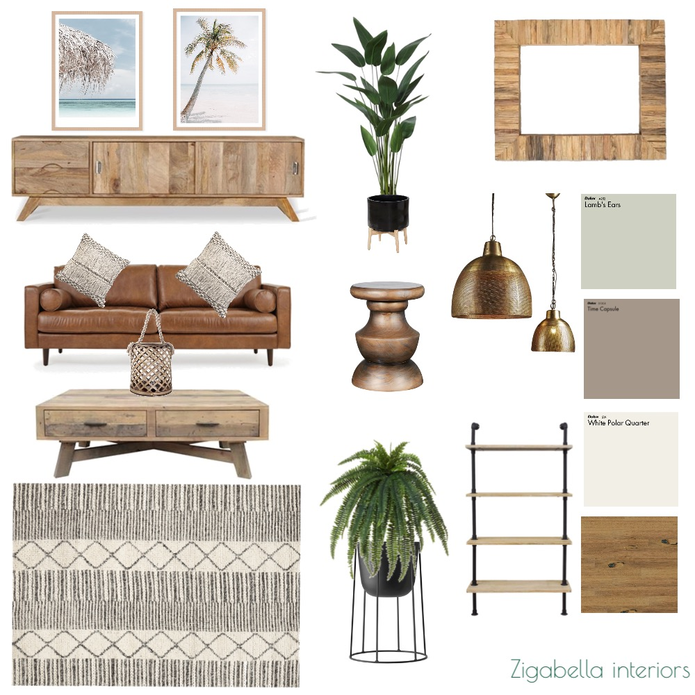 Contemporary Balinese Interior Design Mood Board by blukasik on Style Sourcebook