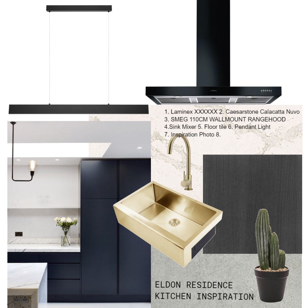 Lisa Eldon - Kitchen Interior Design Mood Board by Beautiful Home Renovations  on Style Sourcebook