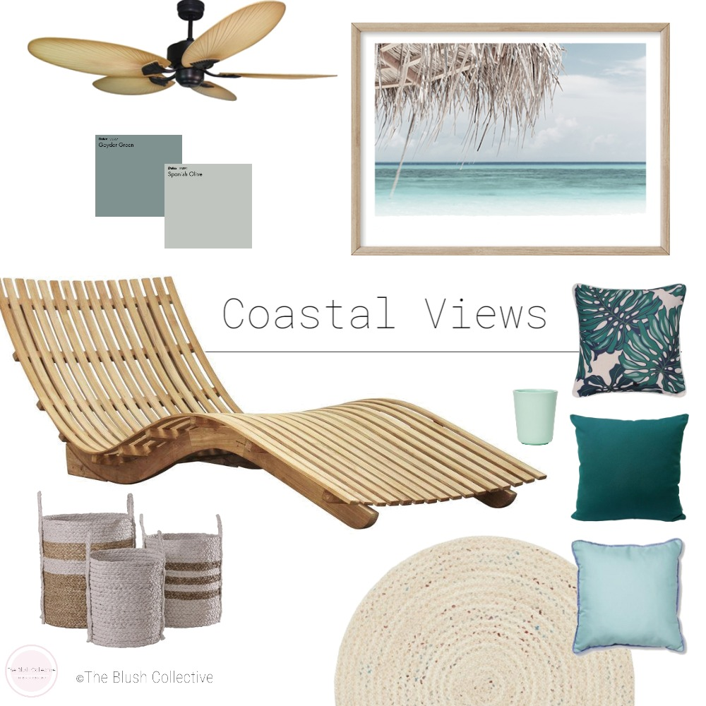 Coastal Views Interior Design Mood Board by TheBlushCollective on Style Sourcebook