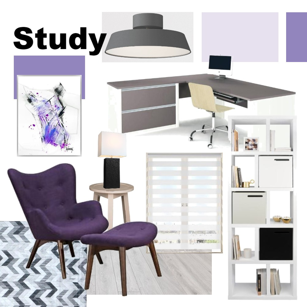 study Interior Design Mood Board by jrandle on Style Sourcebook