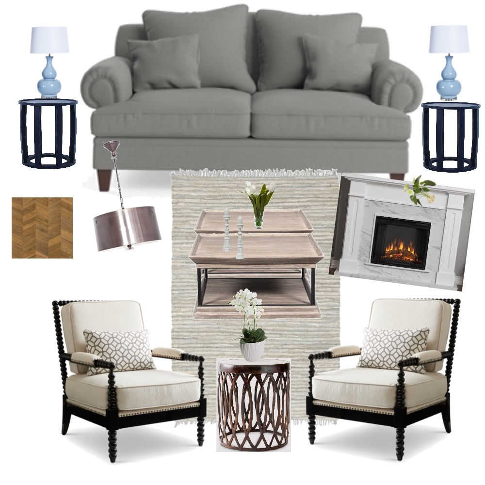 Lounge Interior Design Mood Board by Sed on Style Sourcebook