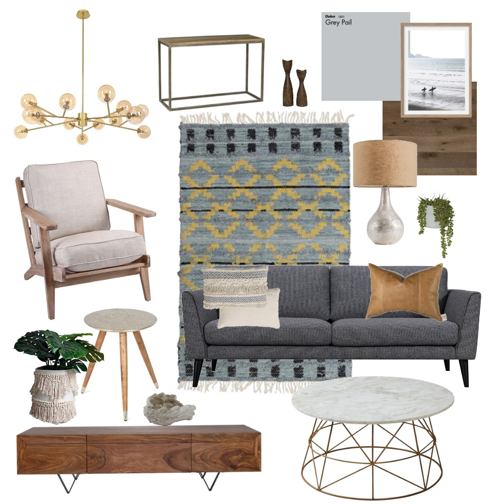 Living Room Interior Design Mood Board by Lwkhill on Style Sourcebook