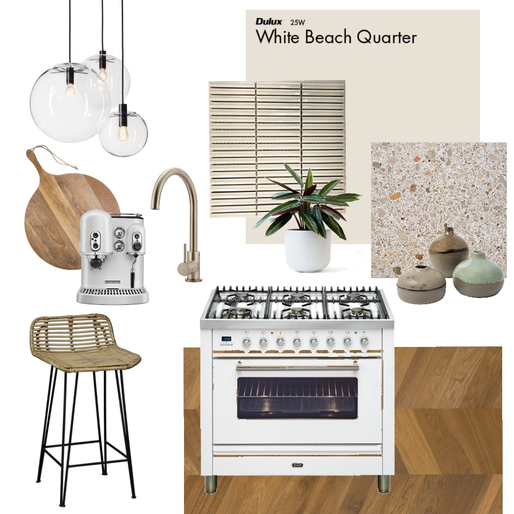 Modern Boho Kitchen Interior Design Mood Board by Ellebryce on Style Sourcebook