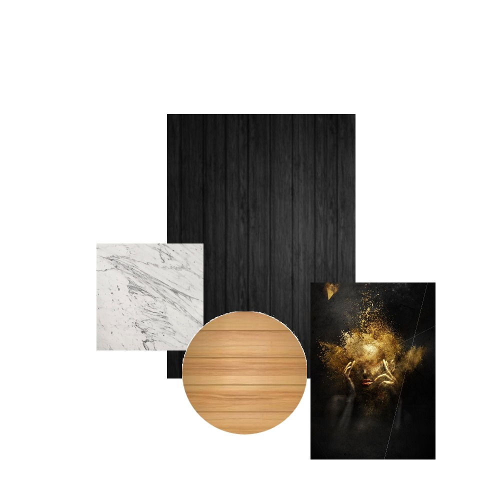 black Interior Design Mood Board by mirikirnes on Style Sourcebook