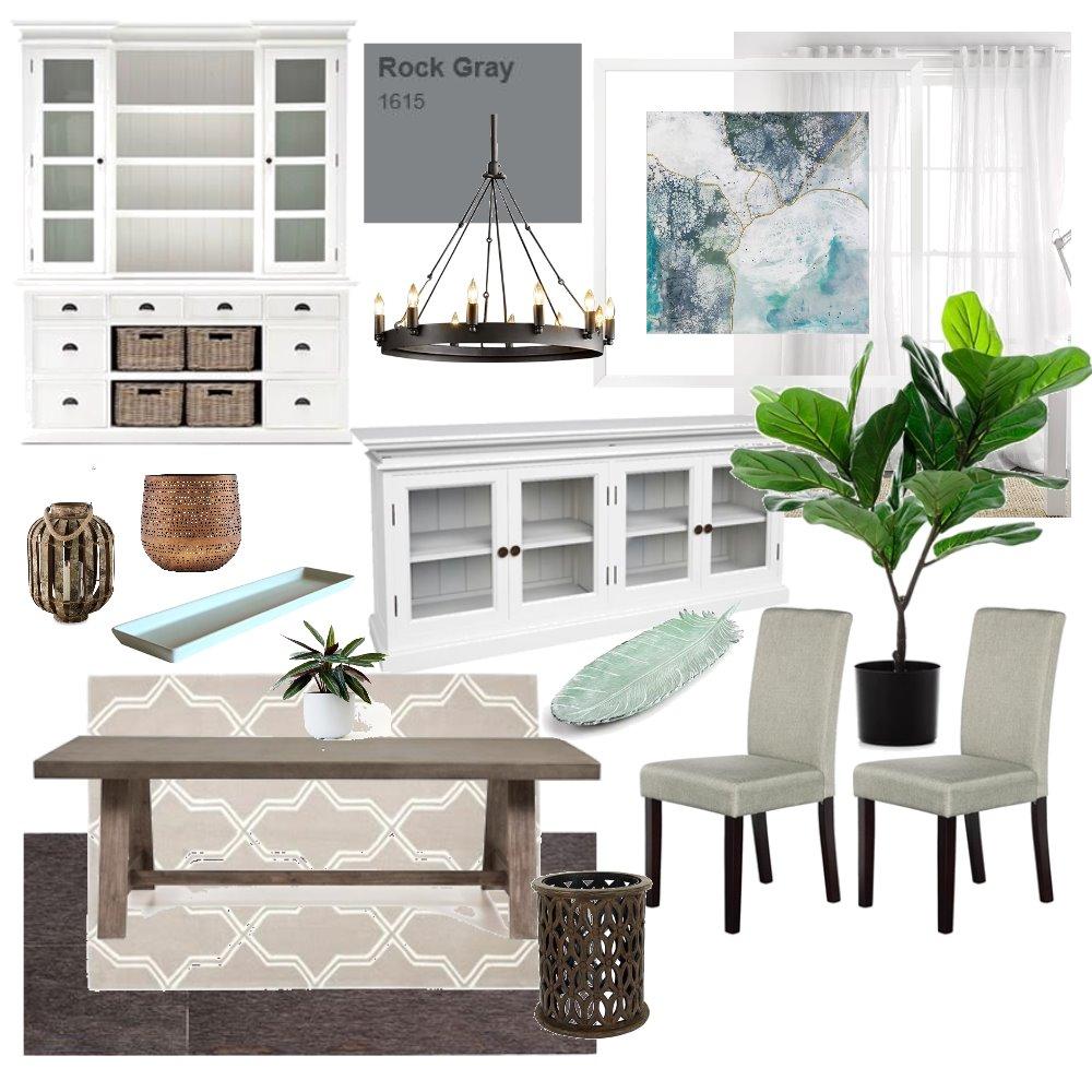 Dining Room Module 9 Interior Design Mood Board by Bercier on Style Sourcebook