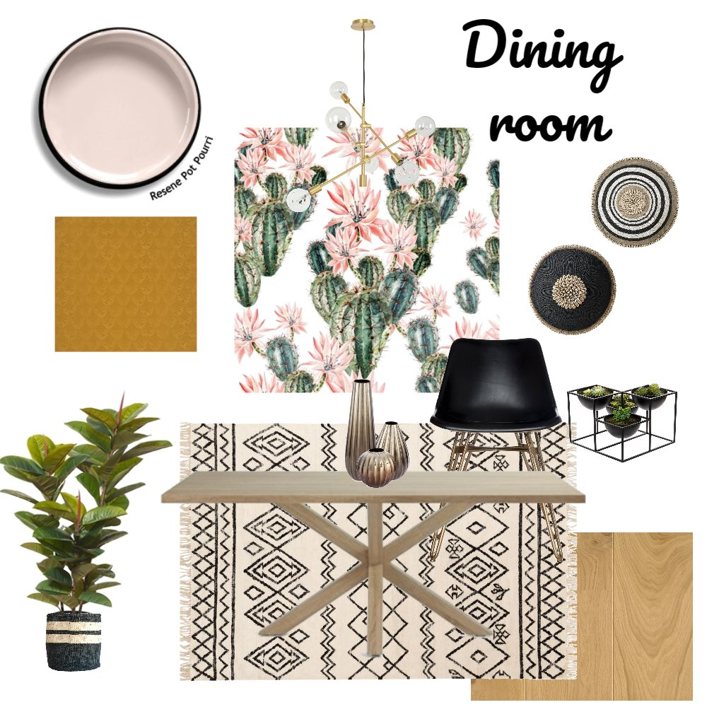 dining room Interior Design Mood Board by chanelmcglashen on Style Sourcebook