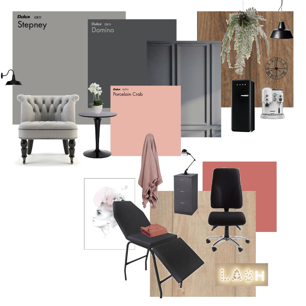 NatashaAzarany-R0 Interior Design Mood Board by M100Arquitetura on Style Sourcebook