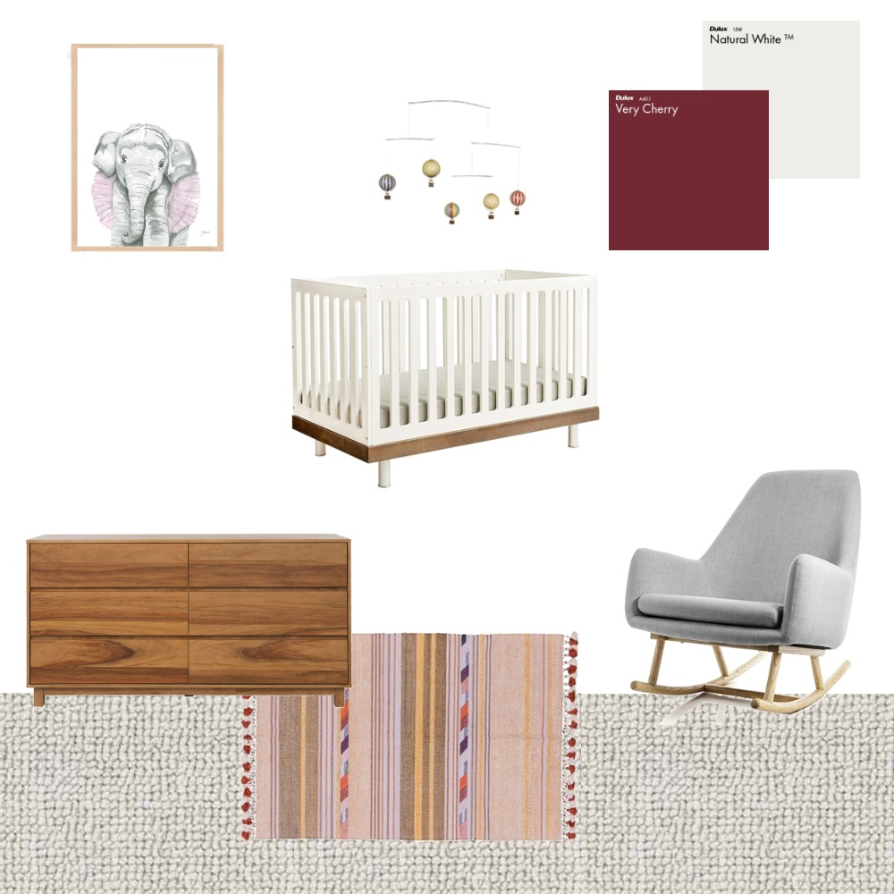 Nursery Interior Design Mood Board by Choices Flooring on Style Sourcebook