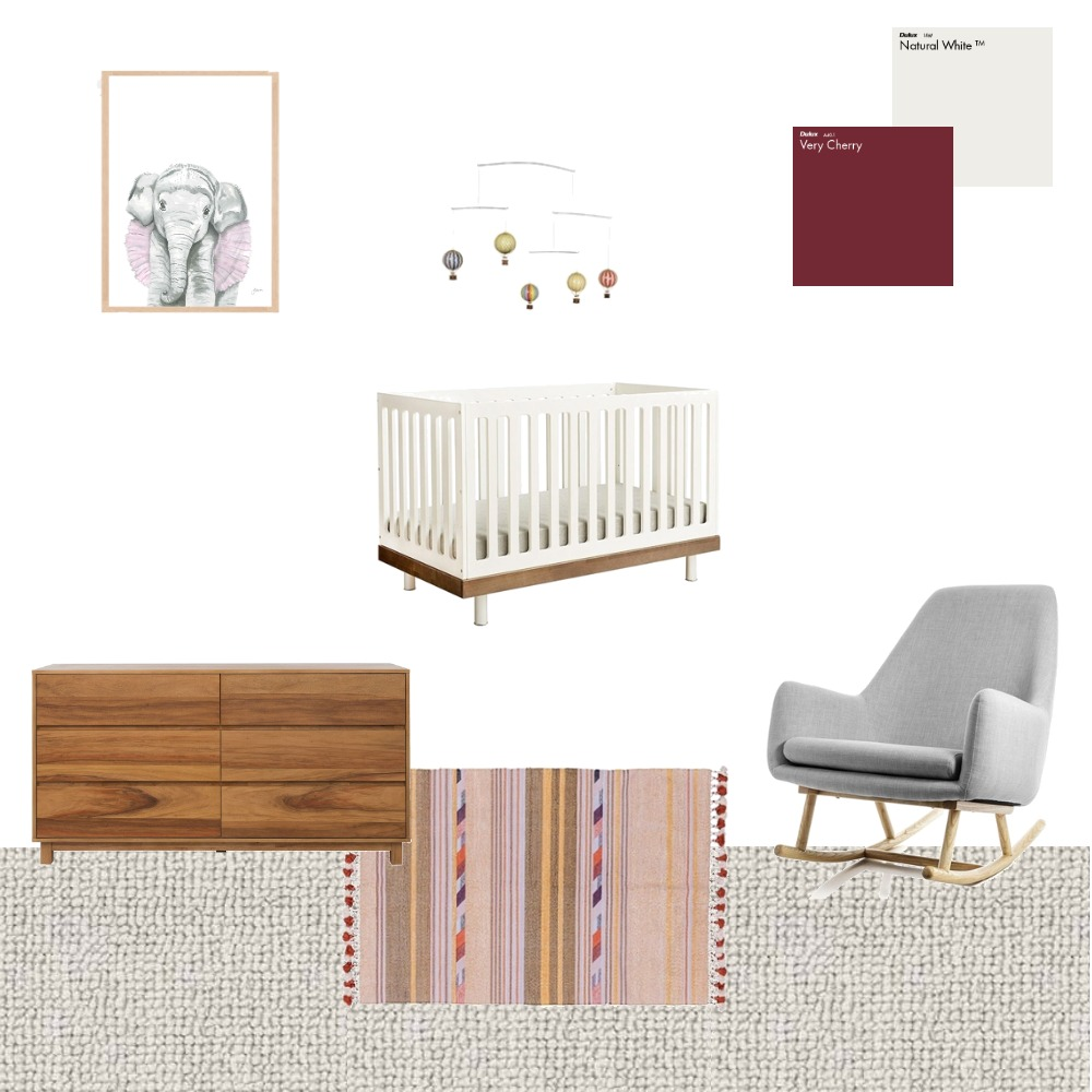 Baby Nursery Interior Design Mood Board by Choices Flooring on Style Sourcebook