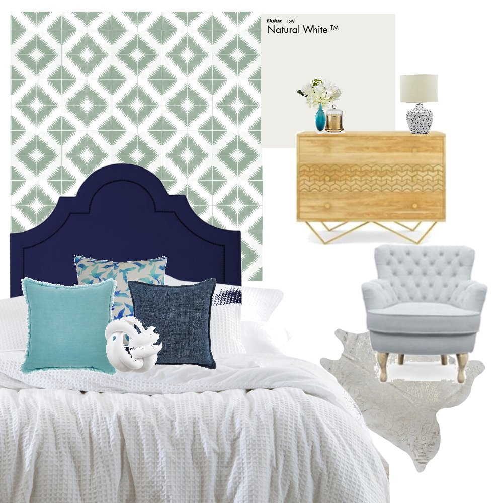 Colour Distribution 1 Interior Design Mood Board by katiejones on Style Sourcebook