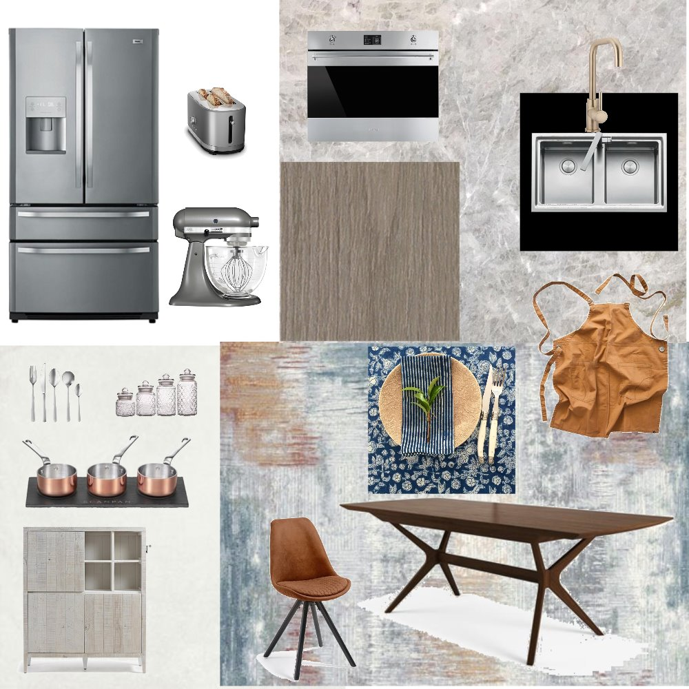 Kitchen/Dinning Interior Design Mood Board by angietse on Style Sourcebook