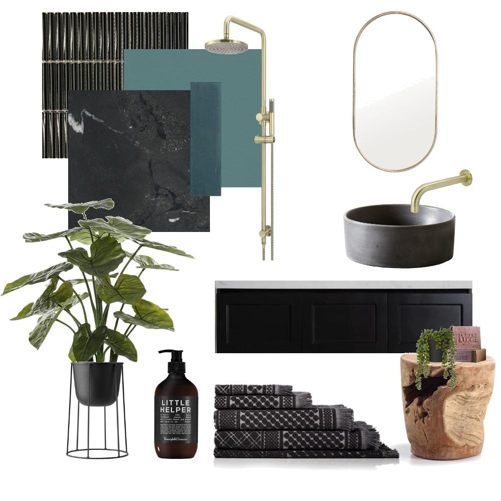 Luxe Bathroom Interior Design Mood Board by AMBIENCEDESIGNS on Style Sourcebook